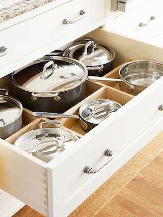 Solutions for Dealing with Pots & Pans Clutter