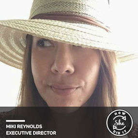 Miki Reynolds ◆ Executive Director, Grid110