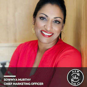 Sowmya Murthy ◆ Chief Marketing Officer, Seven Lake Technologies